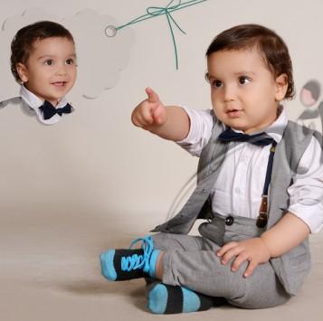 عکاسی حرفه ای از نوزاد در آتلیه سرخه